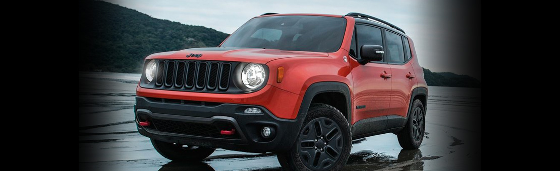 2019 Red Jeep Renegade Exterior