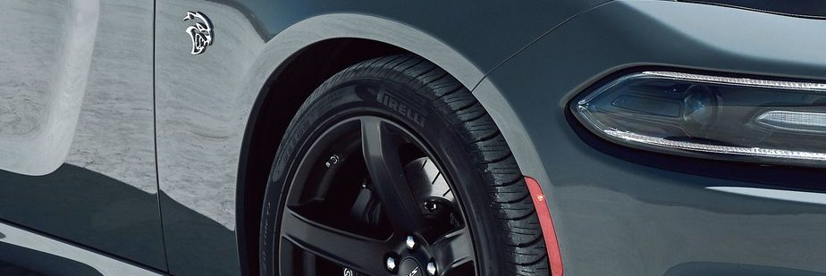 2019 Dodge Charger close-up of a wheel