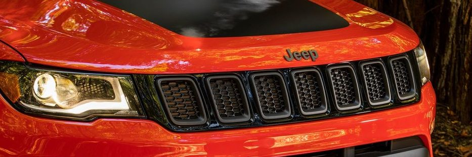 Jeep Compass front grille