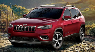 2019 Red Jeep Cherokee