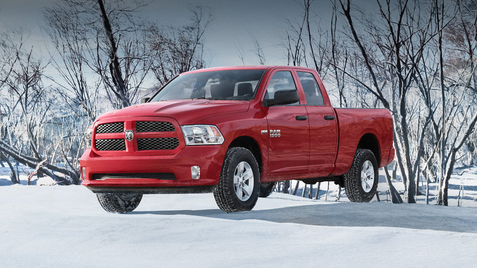 2019 Ram 1500 Classic sitting on snow covered ground