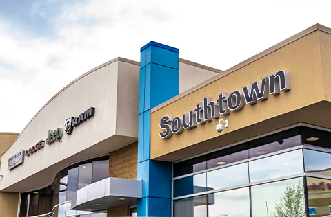 Southtown Chrysler Dealership Exterior