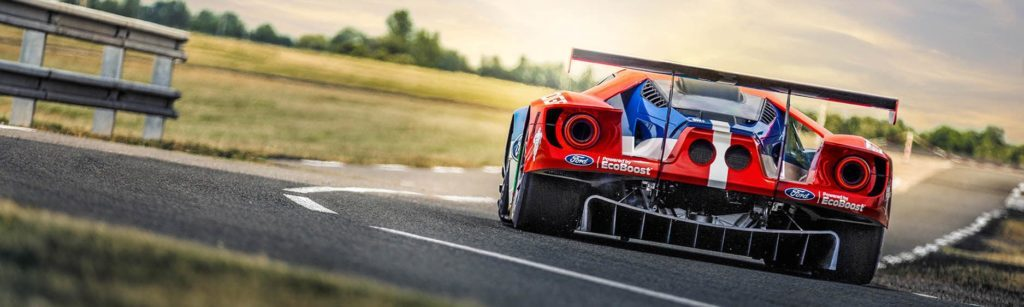 Racingway version of the Ford GT for Le Mans