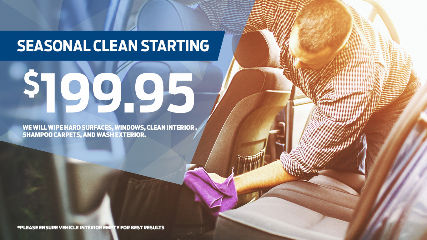 Kentwood Ford seasonal clean coupon