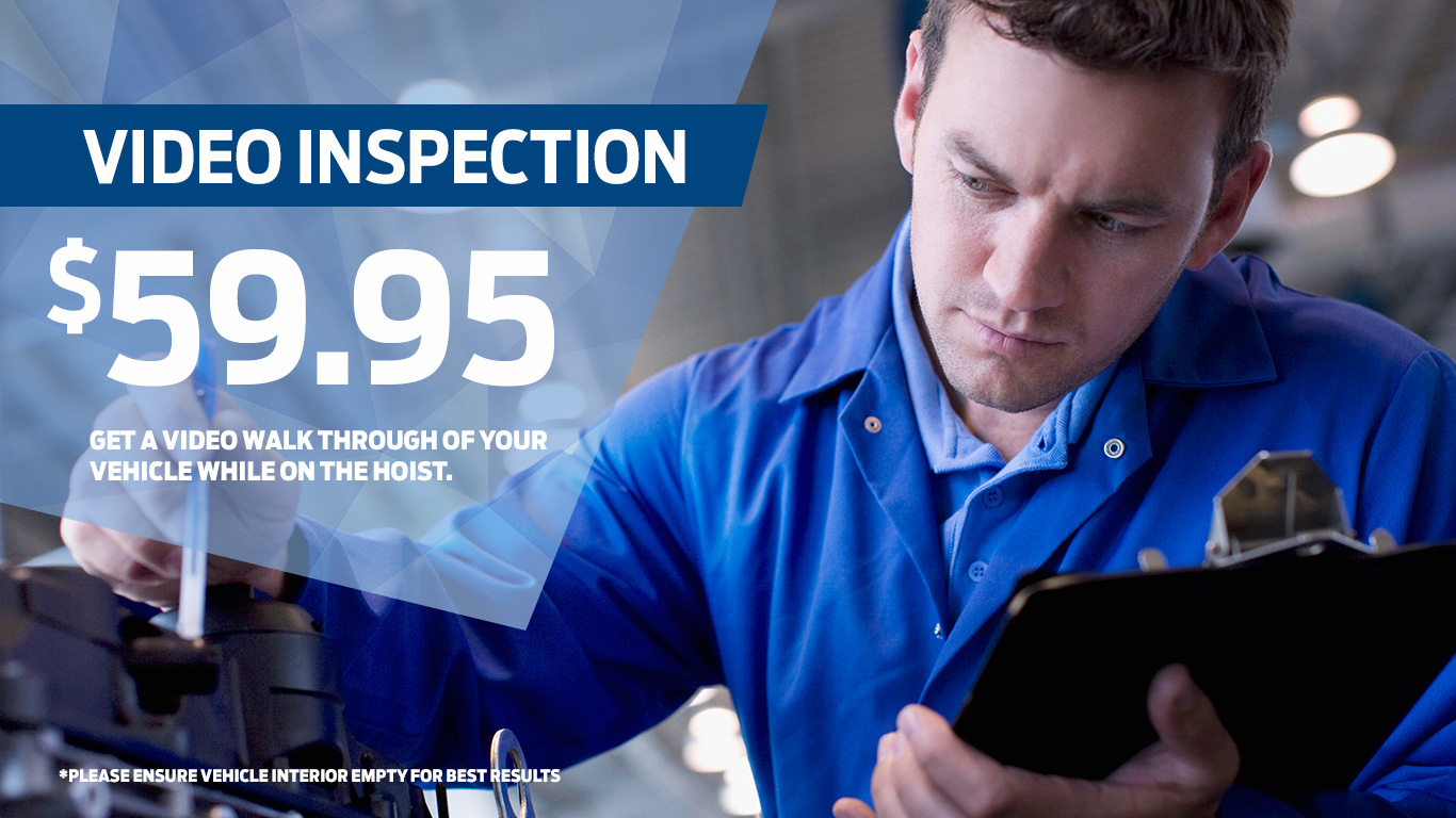 Kentwood Ford video inspection coupon