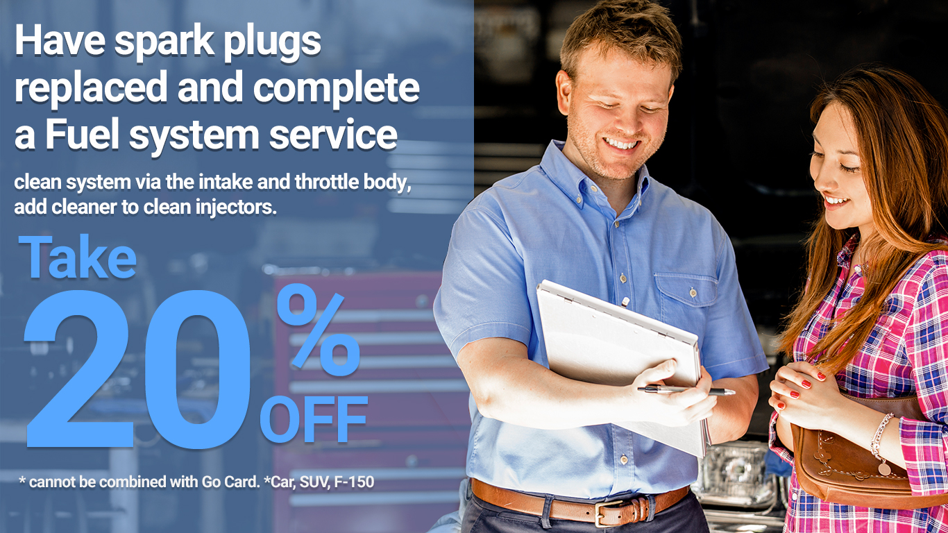 Kentwood Ford spark plugs replace coupon