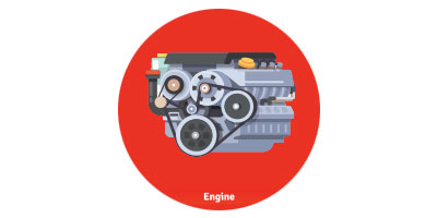 FREE Lifetime engine warranty! Icon
