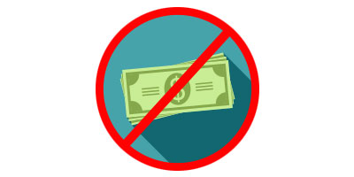 No Extra Fees Icon