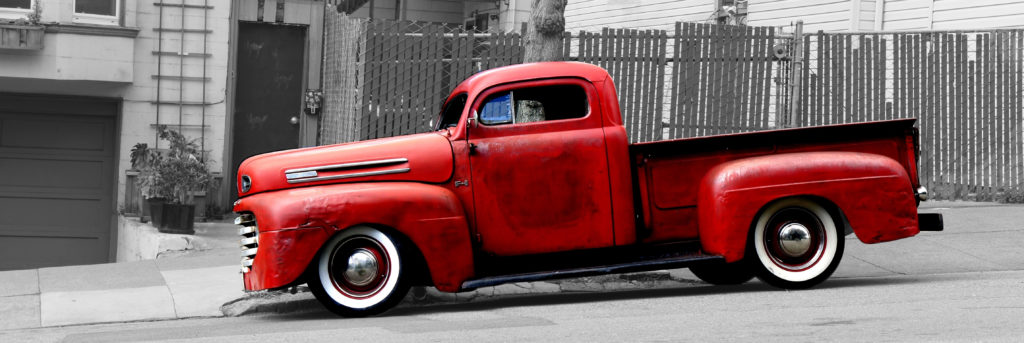 First Generation Ford Truck