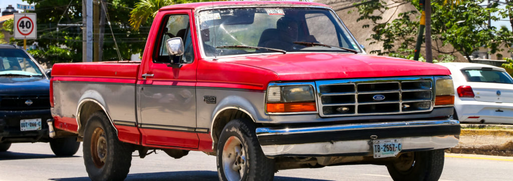 Eighth generation of the Ford F-150