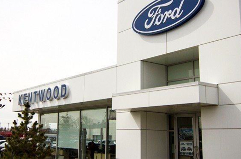 Kentwood Ford Exterior Dealership