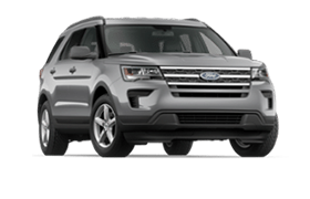 2018 Ford Explorer Grey