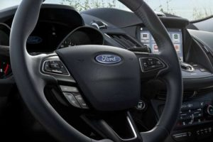 Available heated steering wheel for th 2018 Ford Escape