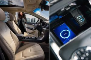 Wireless charging pad for the Ford Edge