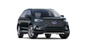 2019 Ford Edge SEL in black