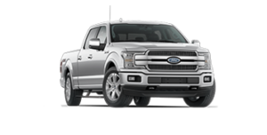 Ford F-150 Platinum in grey