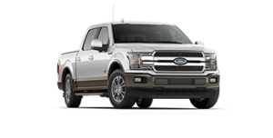 F-150 King Ranch in silver/grey