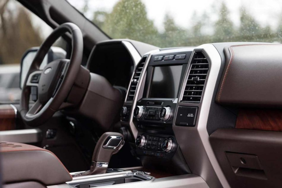 2018 F-150 King Ranch interior