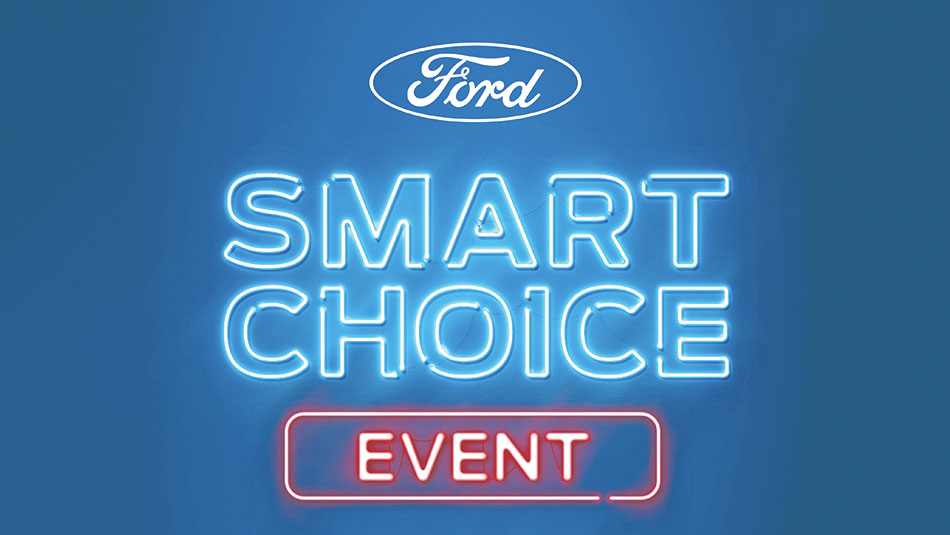 Ford's Smart Choice Event promo