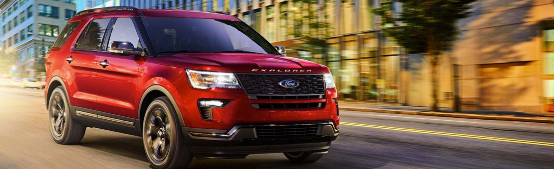 New Ford Explorer | Kentwood Ford