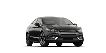 2019 Ford Fusion Hybrid Titanium in grey/black
