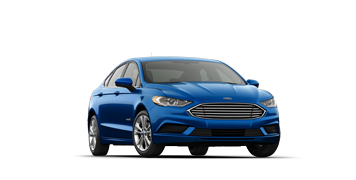 2019 Ford Fusion Hybrid SEL in blue
