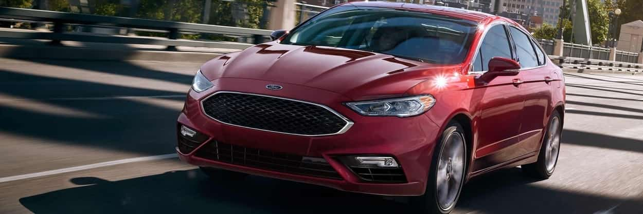 Ford Fusion V6 Sport in Ruby Red Metallic Tinted Clearcoat