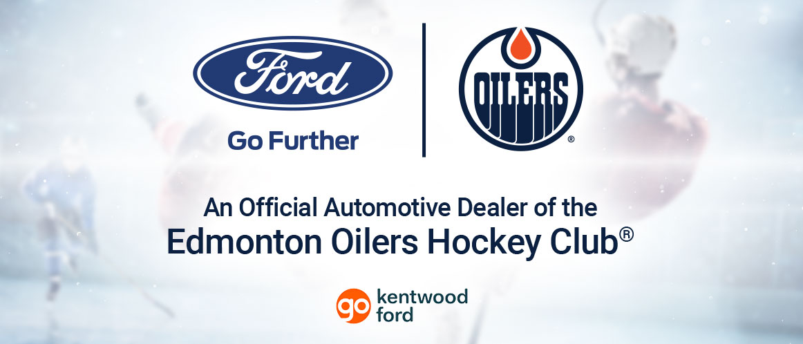 Official Automotive dealer of the Edmonton Oilers Hockey Club