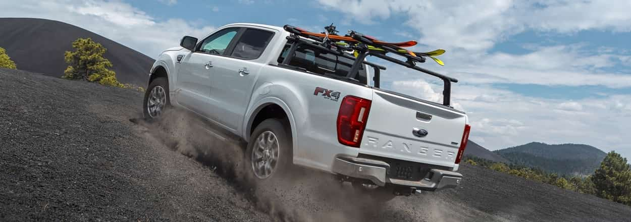 2019 Ford Ranger with FX4 off-roading package