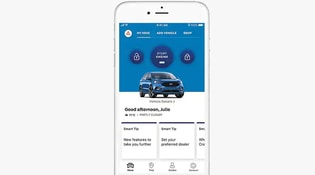 FordPass App showing the user interface