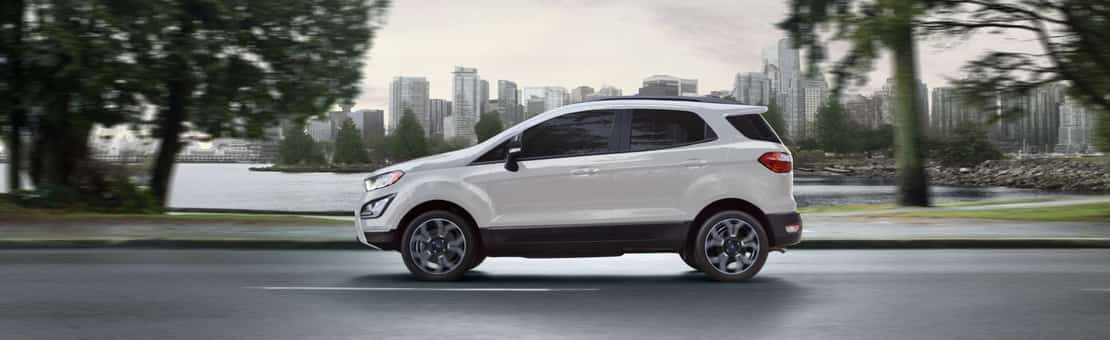 Ford EcoSport SES in white
