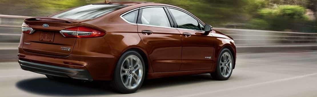 Ford Fusion in Maroon Red