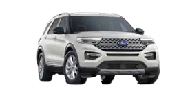 2020 Ford Explorer Limited in silver
