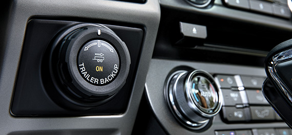 Trailer Backup Assist dial in the 2019 ford f-150