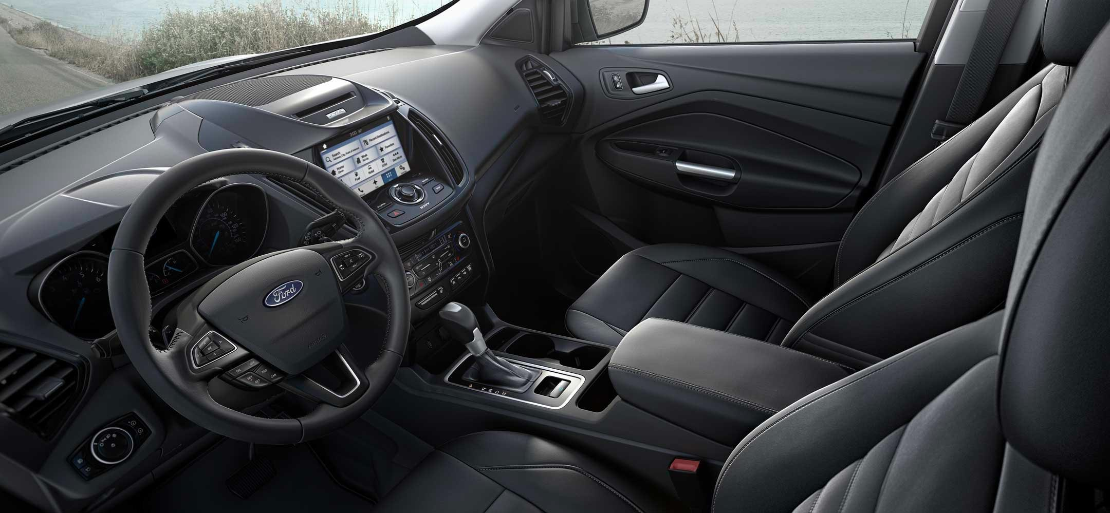 Interior image of the Ford Escape blue at Aurora Ford Hay River in NWT