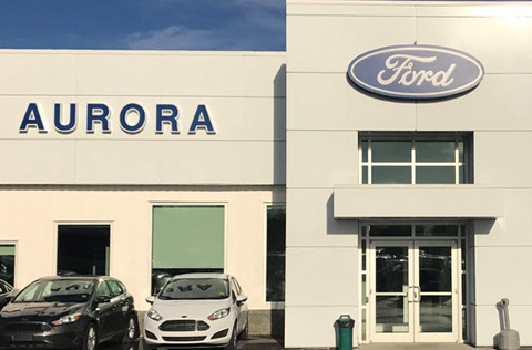 Aurora Ford Yellowknife dealership