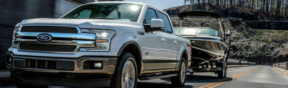 F-150 Best-in-class tow rating