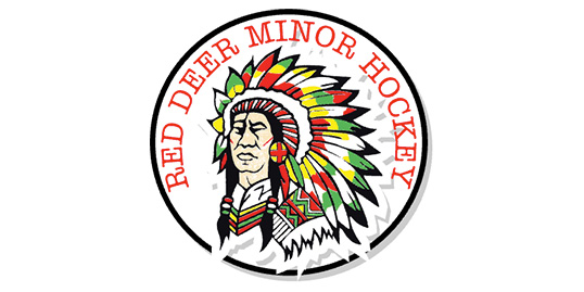 Red Deer Minor Hockey Logo