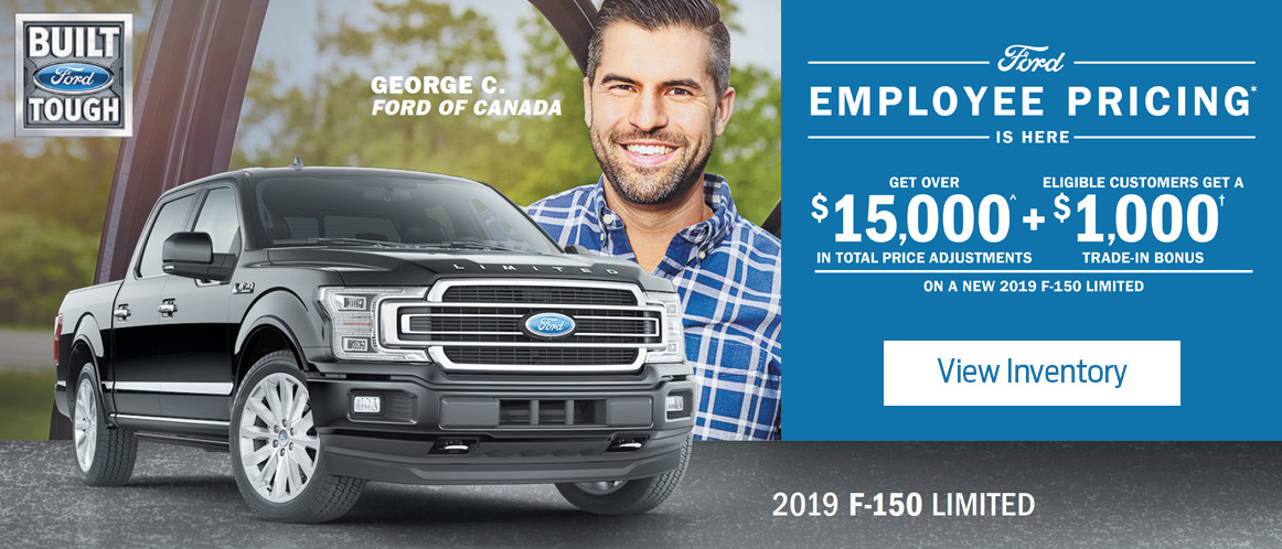 July Ford offer