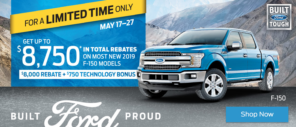Ford Mid May 2019 OEM Offer
