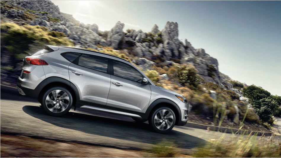 The 2019 Hyundai Tucson heads out on another adventure