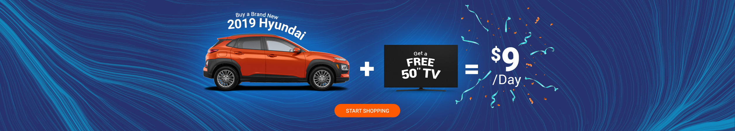 Go Hyundai Free TV Offer