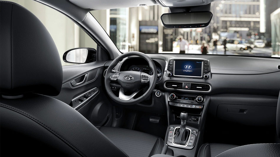 2020 Hyundai KONA interior view