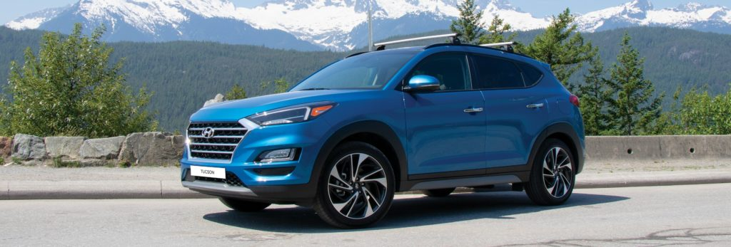 2020 hyundai tucson with roof rails