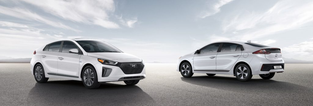 the hyundai ioniq hybrid and ioniq electric plus