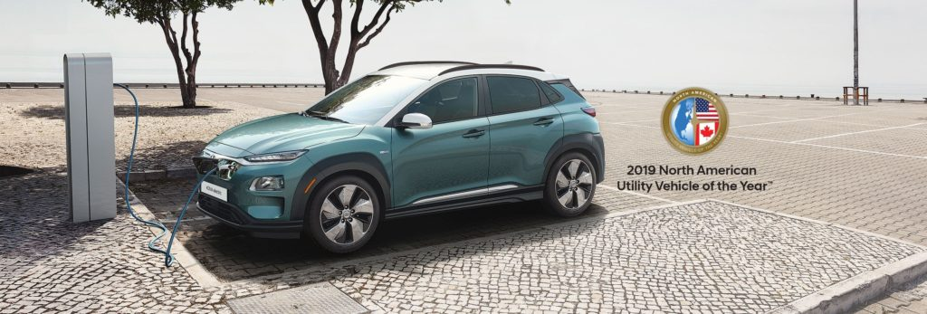 the hyundai kona electric