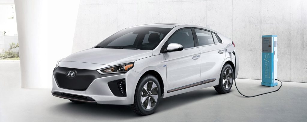 the hyundai ioniq electric