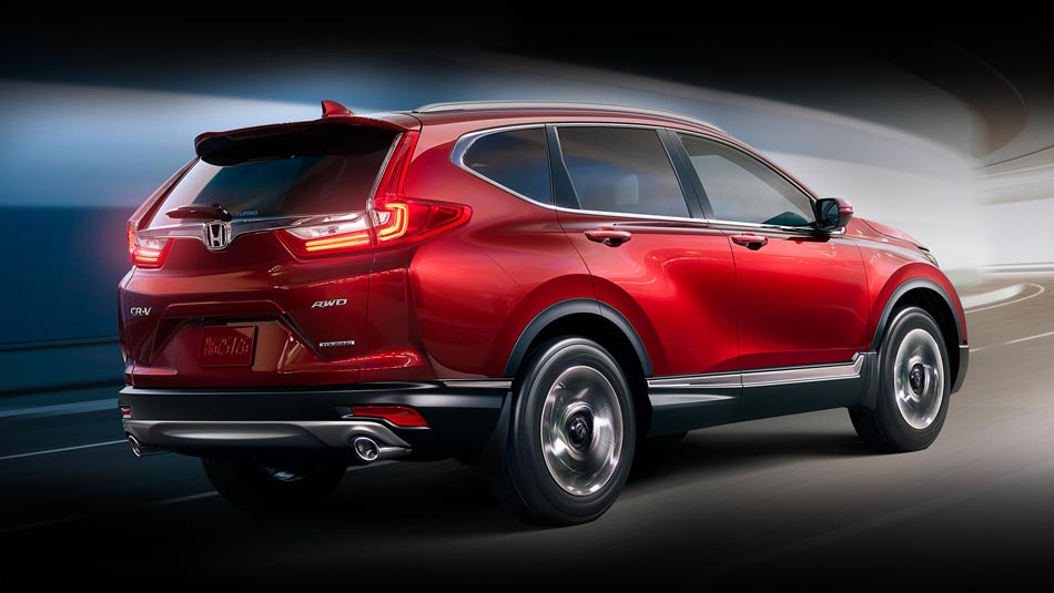 Red Honda CR-V Advantage