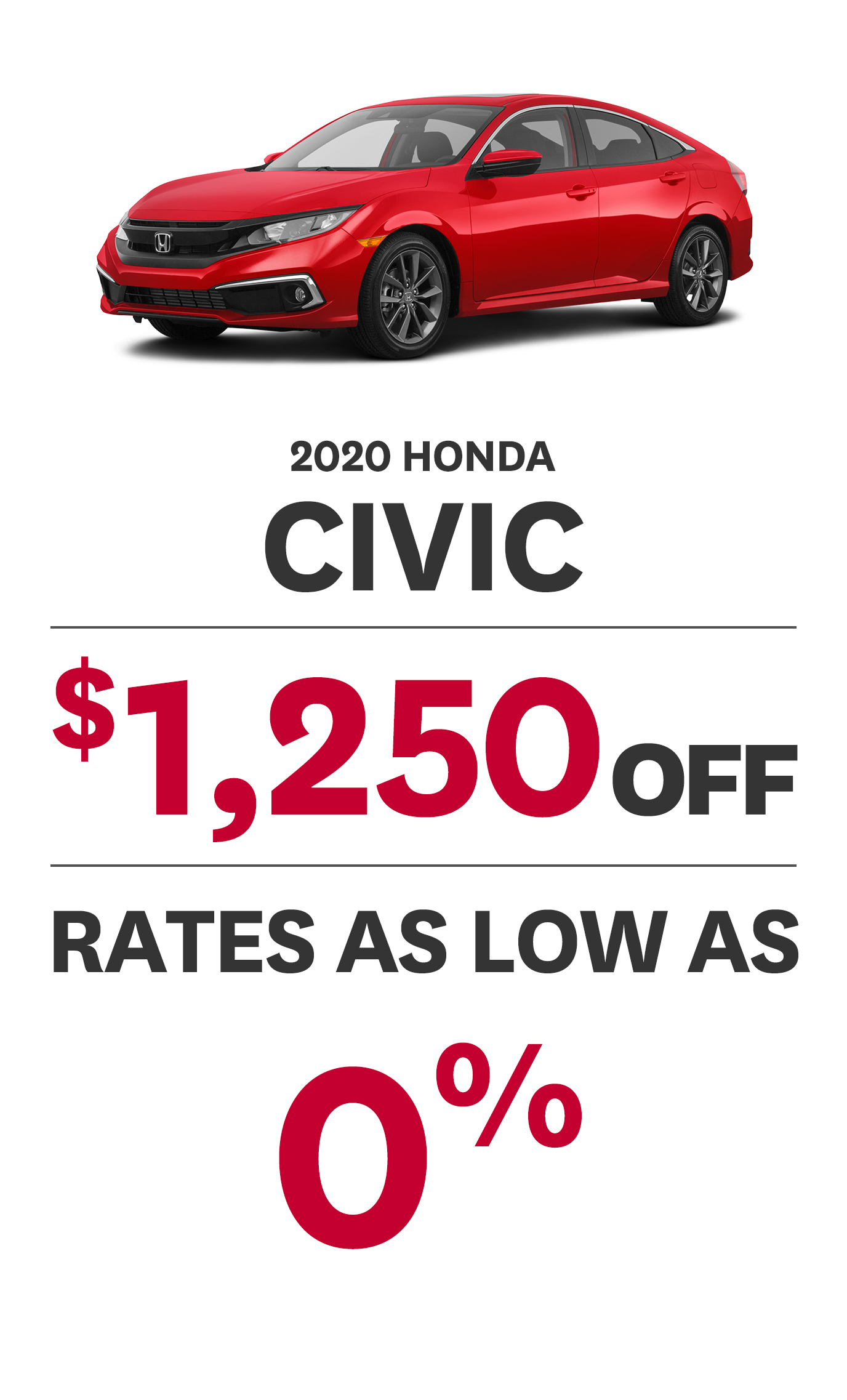 2020 Civic Offer