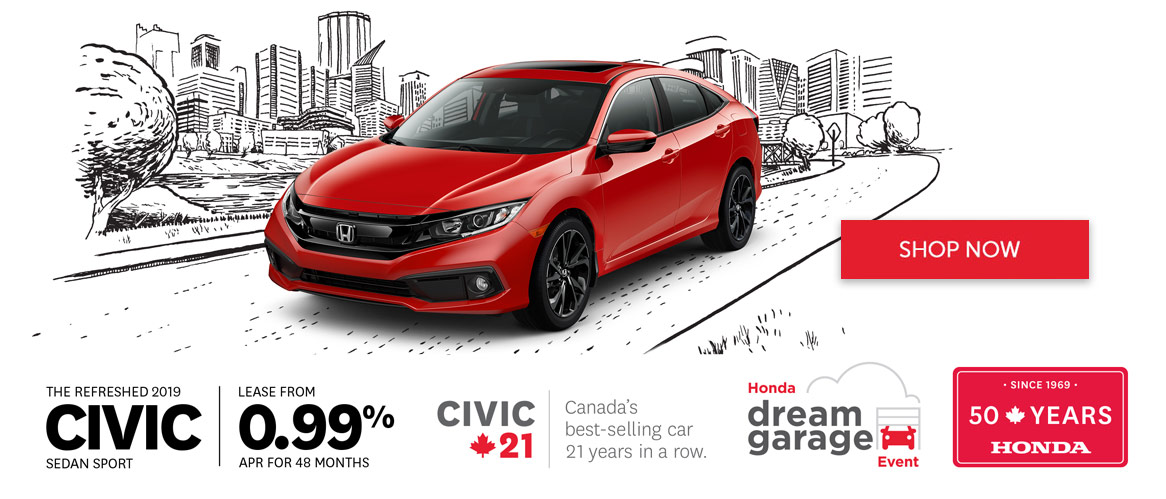 Honda March 2019 Civic OEM Offer